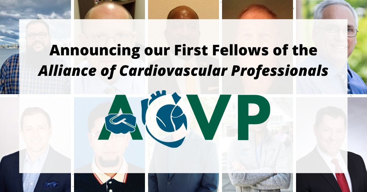Announcing our First Fellows of the Alliance of Cardiovascular Professionals