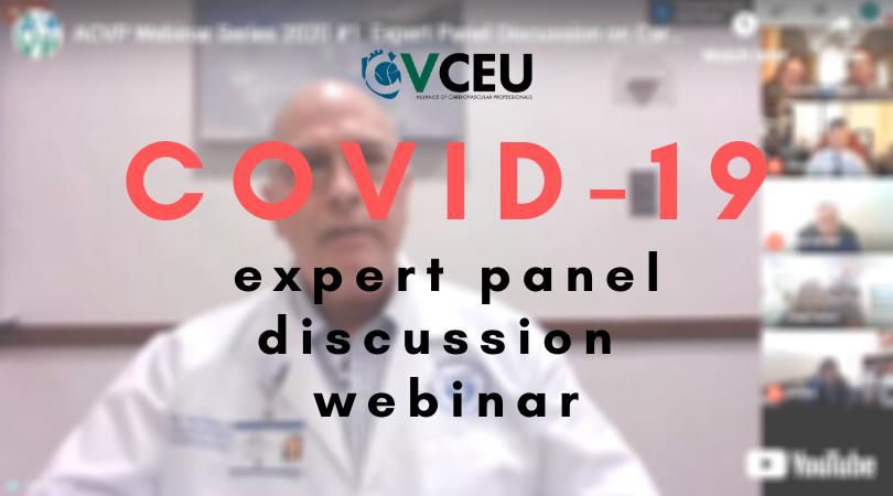 CVCEU - COVID-19 Expert Panel Discussion Webinar - Free Cardiac CE Webinars